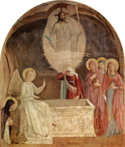 Resurrection of Christ and Women at the Tomb by Fra Angelico (1442)