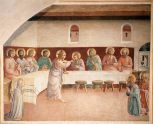 Institution of the Eucharist by Fra Angelico (1442)