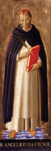 St Peter Martyr by Fra Angelico (1440)