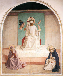 The Mocking of Christ by Fra Angelico (1435)